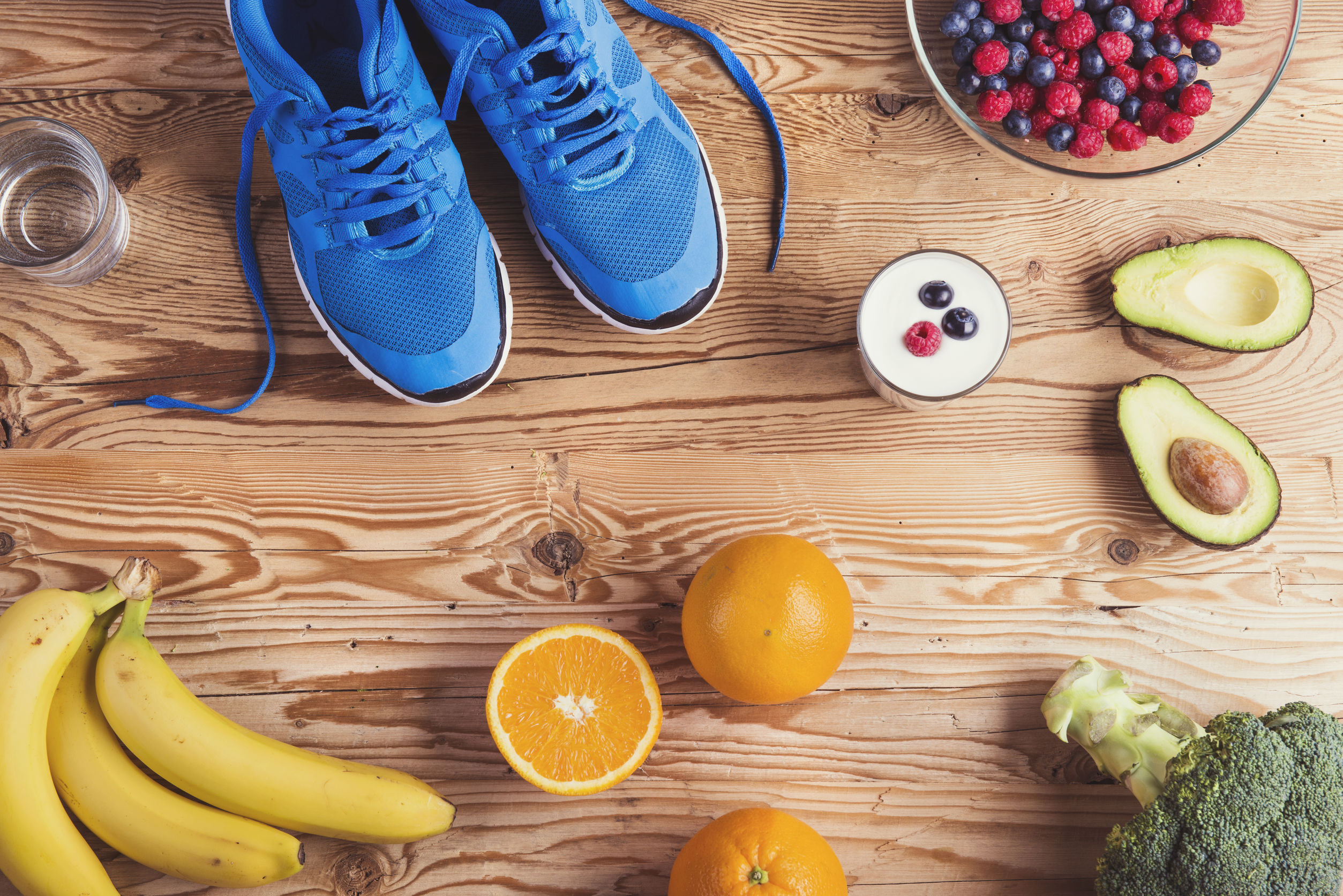 Healthy Food Running Shoes